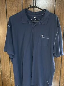 tommy bahama polo shirt mens dark blue 3xl