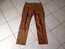 pantalon cuir daim camel BA&SH taille 40/42 quasi neuf 580€