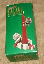 Vintage Christmas Candle Holder and Climber - Kittens