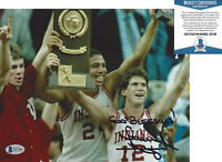 COACH STEVE ALFORD INDIANA UNIVERSITY SIGNED 8x10 PHOTO NCAA BECKETT COA BAS