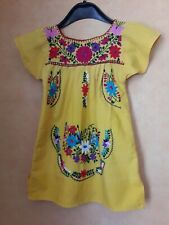 9cdcc2d917a90 ROBE D ETE BRODEE FILLETTE FILLE T.3 4a VINTAGE 70 EMBROIDERED GIRL