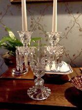 a stunning  baccarat candlelabra