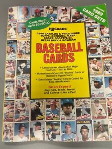 Hygrade Catalog And Price Guide of Baseball Cards (Includes 1989 Card Sets)