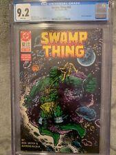 Swamp Thing #62 Cgc 9.2 NM- DC Comics (1987)