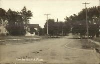Waseca MN Lake Ave c1910 Real Photo Postcard EXC COND