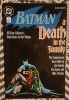 Batman: A Death in the Family Graphic Novel. 1st Printing. (1988, DC)