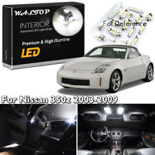 9x White Interior LED Lights Package Kit For 2003-2007 2008 2009 350z Fairlady Z