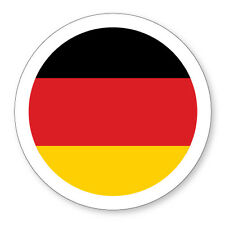 GERMAN/GERMAN/DEUTSCHLAND FLAG STATIC CLING CAR, VAN VEHICLE TAX DISC HOLDER