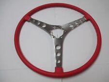 1958 corvette SIGNET RED steering wheel NEW! BLEM C1 59 60 61 62