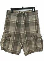 Levi's Men's Plaid Cargo Shorts Size 30
