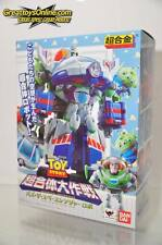 BANDAI CHOGOKIN TOY STORY CHOGATTAI - BUZZ THE SPACE RANGER ROBO ACTION FIGURE