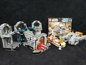 Lego Star Wars Sets 75093 75152 8092 Death Star Duel Landspeeder Hovertank Lot