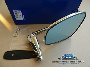 VOLVO 276614 AMAZON 121 122 P1800 140 DOOR MIRROR (with angle spacer included).