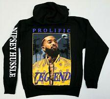 NIPSEY HUSSLE Hooded Sweatshirt HU$$LE Prolific Legend Pullover Hoodie Men's New