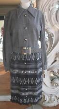 Vintage 1970s Ethnic Knit Dress