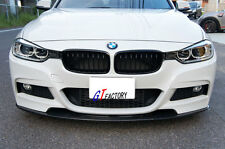 FOR BMW F30 F31 M TECH M SPORT USE CARBON FRONT UNDER LIP SPOILER AUTOPLUS STYLE