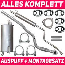 Schalldämpferset Auspuffanlage Auspuff Opel Meriva A I 03-10 1.6 Montagesatz