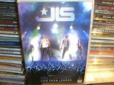 JLS - Only Tonight - Live In London (DVD, 2010)