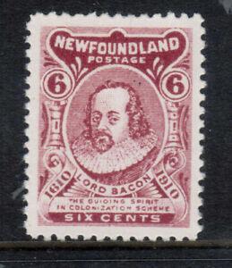 Newfoundland #92a Extra Fine Never Hinged Gem