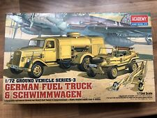 1/72 CAMION ESSENCE GERMAN ALLEMAGNE FUEL TRUCK ACADEMY