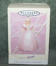 Hallmark Keepsake Springtime Barbie Ornament 1996