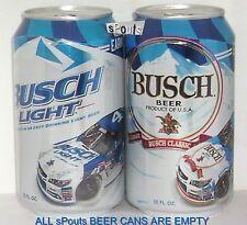 2016 NASCAR KEVIN HARVICK #4 RACE CARS BUSCH LIGHT+BEER CAN SET USA MOTOR SPORTS