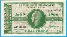 France 1000 FRANCS MARIANNE ND (1945) SUP