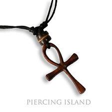 Kreuz Holzkreuz Halskette Anhänger Kette Holz Handarbeit Design N246