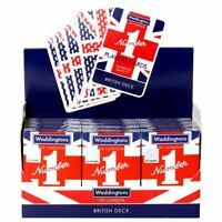 Waddingtons No.1 Classic Union Jack Playing Cards Poker Game - Linen Finish