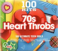 100 Hits-70's Heart Throbs - Various Artists (CD 2016)  New