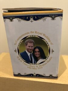 Royal Heritage Fine China Commemorative Mug Prince Harry Meghan Wedding 2018