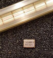 EPSON SG-8002JA 45MHz Crystal Oscillator Programmable CMOS 3.3V SOJ 4-Pin NEW