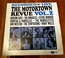 The Motortown Revue, Vol. 2 LP RARE ORIG MOTOWN 615 Soul EX / VG