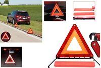 Reflective Warning Sign Foldable Triangle Car Hazard Breakdown EU Emergency