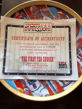 "Vintage Sports Impressions Dream Team II ""first ten chosen"" Plate - LIMITED"