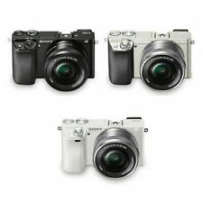 Sony Alpha A6000 Mirrorless Camera 16-50mm Power Zoom Lens Kit WiFi NFC+ 3colors