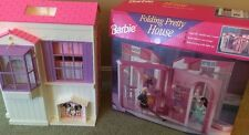 Vintage Mattel Barbie Folding Pretty House Villa Used Once 1996 RARE!!!