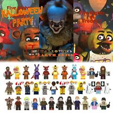 Halloween Minifigures IT Horror Movies Stranger Things Jason Billy at Freddy's