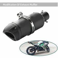 Modified Motorcycle Scooter Racing Style Exhaust Tail Pipe Muffler For 38-51mm