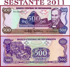 NICARAGUA -  500 CORDOBAS 1985  -  P 155  -  FDS / UNC