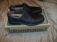 Men's Dunham by New Balance #DAAO2 Brown Leather Slipper Casual/Dress Sz 8.5 New