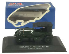 IXO LM1924 Bentley 3L #8 Le Mans Winner 1924 - J Duff/F Clement 1/43 Scale