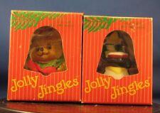 * 2 Jolly Jingles Collector Bell Ornaments MIB Penguin & Bear
