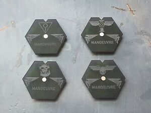 Manoeuvre Dials 10 Pack - Compatible with Aeronautica Imperialis