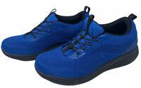 Men's Athletic Shoes Size 10, No Bending Tie Your Shoes via Hands Free Lace Up