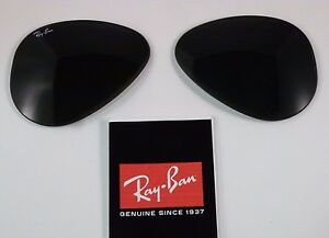 New Authentic RAY-BAN Sunglass Lens Replacements RB3025 Aviator G-15 55mm