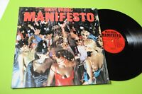 ROXY MUSIC LP MANIFESTO ORIG ITALIA 1979 NM !!!!!!!!!  TOOOP LAMINATED COVER