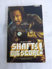 Shaft's Big Score - Ernest Tidyman - Corgi 1972 - Paperback