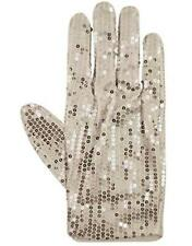 King Of Pop Billie Jean Sequin Glove Silver Thriller Michael Jackson Fancy Dress