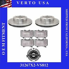 Front Kit Brake Toyota Sequoia 2001-2002 , Tundra 2000-2002 with Caliper # S13WE